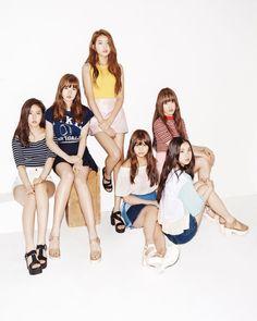 Check out GFriend @ Iomoio South Korean Girls, Korean Girl Groups, Gfriend Album, Korean Best Friends, Cloud Dancer, Korean Entertainment, G Friend, Kpop Aesthetic, Summer Girls