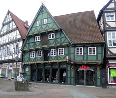 Celle's oldest house, built in 1526