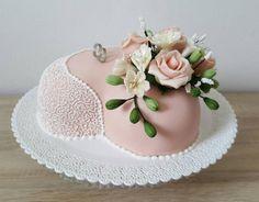 Svadobne srdce torta, svadobné 3