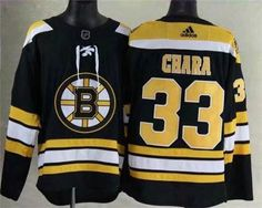 2a01184d9 Adidas Men's Boston Bruins #33 Zdeno Chara Black 2017-2018 Hockey Stitched  NHL Jersey