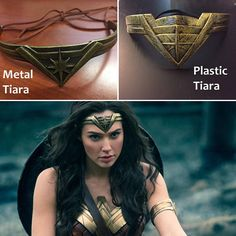 ❤ This listing is for ONE Wonder Woman inspired Tiara. It is approximately 8 inches across and works best for adult sizing. Two styles are now available, 1 is made of FLEXIBLE PLASTIC so it is light weight and easy to wear. The second is made of bendable METAL which gives it a heavier weight and more realistic feel. ❤ PLEASE NOTE THIS IS ADULT SIZING! This will be way too big for a child. ❤ This Wonder Woman inspired Tiara is great to add to any wonder woman fan collection. ❤ Complete your…
