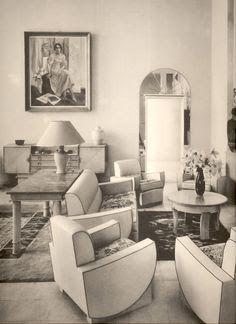 art deco barbra streisand - Google Search Art Deco Home, Art Deco Era, Art Nouveau, French Art Deco, Streamline Moderne, Interior Decorating, Interior Design, Art Deco Furniture, Maurice