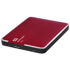 "SMARTPHONE RECOND. Western Digital Disque Dur Externe Reconditionné - My Passport Ultra - 2To - 2,5"" - Rouge - Garantie 6 mois"