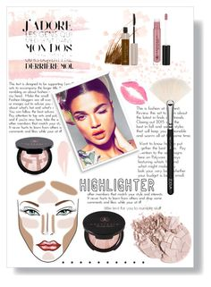 """""""Spring Highlight"""" by amrxo ❤ liked on Polyvore featuring beauty, ZOEVA, Anastasia Beverly Hills, Bomedo, NARS Cosmetics and highlighter"""