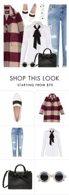 """""""Put a bow on it 🤗"""" by ino-6283 ❤ liked on Polyvore featuring Kate Spade, Max&Co., Miss Selfridge, Diane Von Furstenberg and Chanel"""