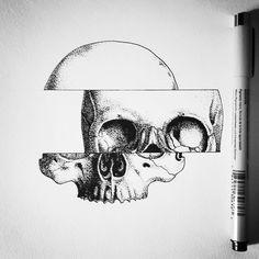 Very fun project. Done.  #tattoo #fineline #drawing #blacktattooart #blxckink #illustration ...