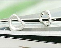 Charm Your Love Silver Stud Earrings (www.accessoriessecret.com)