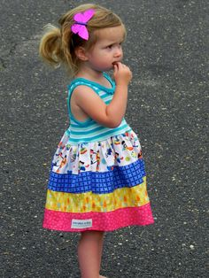 Little Lady's Power Hour tank dress  12m6 by averymacroo on Etsy, $32.00