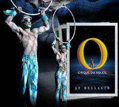 "Cirque Du Soleil Clowns | ... clowns, synchronized swimmers, and divers at Cirque du Soleil's ""O"