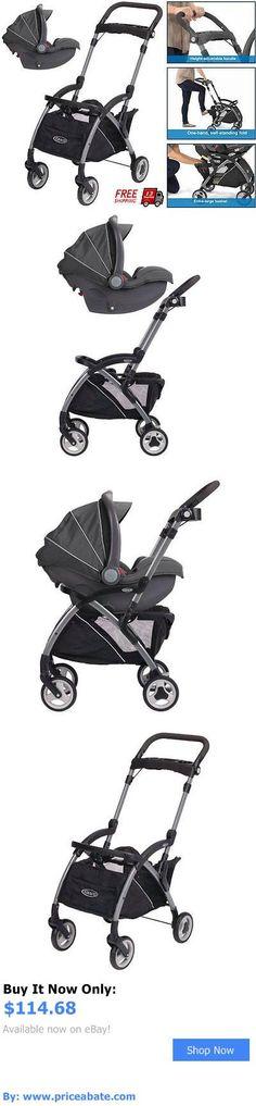 baby kid stuff: Stroller Infant Car Seat Combo Carrier Toddler Baby Portable Fold Travel Black BUY IT NOW ONLY: $114.68 #priceabatebabykidstuff OR #priceabate