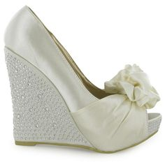 more wedding wedges. - Click image to find more Weddings Pinterest pins