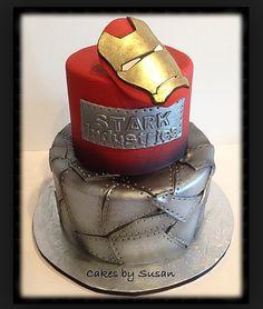 Ironman Birthday Cake Idea