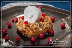 Десерт из яблок и овсяных хлопьев