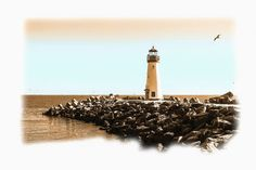 'Lighthouse+Point'+von+Dirk+h.+Wendt+bei+artflakes.com+als+Poster+oder+Kunstdruck+$18.03