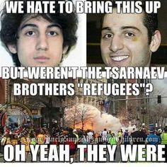 I don't think the stupid Millennials even know who these are. They're the Boston Marathon bombers. You're welcome