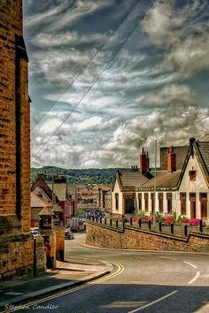 View down Castle Road in Scarborough, North Yorkshire, England. - Stephen Candler Photography ¦ Google+ ¦ Twitter ¦ Facebook