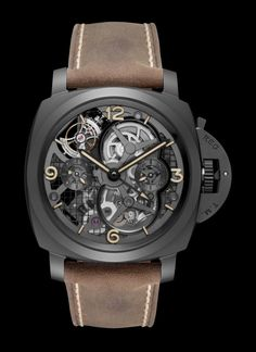 Panerai Luminor 1950 Tourbillon GMT Ceramica PAM 000528