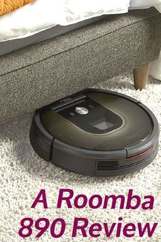 The Roomba 890 is iRobot's latest offering. It is the first and, so far, the only Series 800 robot vacuum that you can connect to your Wi-Fi network, allowing you to control the unit through a smartphone app.