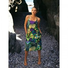 5/2011 Low-cut Dress with Bandeau Top #110A