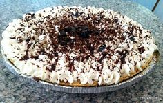 chocolate pie (this has cream cheese in it & a large candy bar - might be interesting to try)