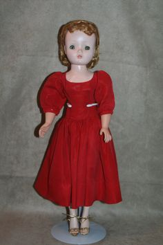 Madame Alexander Cissy Doll. Claudette has her new wig, she's finished and she's a beauty.