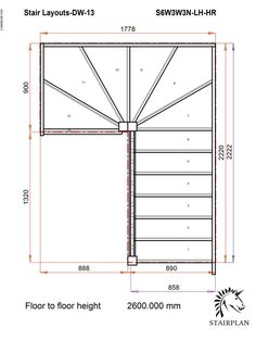 Steel Stairs, Loft Stairs, Winder Stairs, Stair Plan, Barn Door Hinges, Staircase Design, Staircase Drawing, Iron Stair Railing, Interior Design Sketches