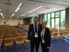 Mit Thorsten Jekel auf dem Unternehmertag von Steffen Ritter in Hagen.
