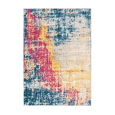 Galaxy Abstract Multi Rug | Dunelm Out Of This World, Large Rugs, Modern Rugs, Soft Furnishings, Abstract Print, Cosmic, Colours, Artwork, Forget