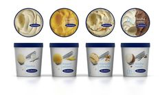 Awesome ice-cream packaging from 2yolk