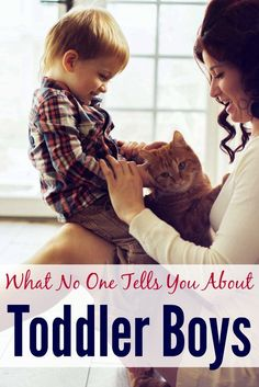 Want the truth about parenting toddler boys? Love this!
