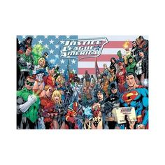 Childrens DC Comics Justice League Of America Giant Poster 140x100cm by PopArtUK http://geek.ragebear.com/jmxt8