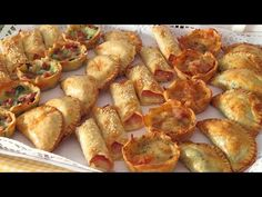 Baked dumplings: 6 inexpensive recipes, easy and fast .- Baked dumplings: 6 inexpensive recipes, easy and fast …- Baked dumplings: 6 cheap, easy and quick recipes (WITHOUT OIL) -… – # economic - - Inexpensive Meals, Easy Meals, Quick Recipes, Healthy Dinner Recipes, Tasty Bites, Food Platters, Appetizers For Party, Finger Foods, Italian Recipes