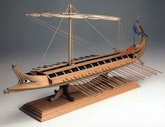 Amati Greek Bireme Wood Model Ship Kit