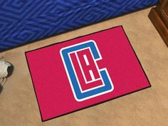 """NBA - Los Angeles Clippers Starter Rug 19"""""""" x 30"""""""""""
