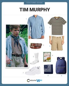 The top costume guide for cosplaying the look of the young dinosaur expert Tim Murphy, the grandson of Jurassic Park founder John Hammond. Book Day Costumes, Family Halloween Costumes, Cool Costumes, Costume Ideas, Nerd Costumes, Halloween 2018, Jurassic Park Party, Jurassic Park World, Fashion Kids