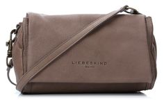 wardow.com - #Liebeskind, #Berlin, Vintage Nisha Schultertasche Leder stein 27 cm