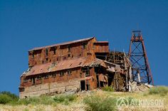 Abandoned Gold Mine in Victor, Colorado.