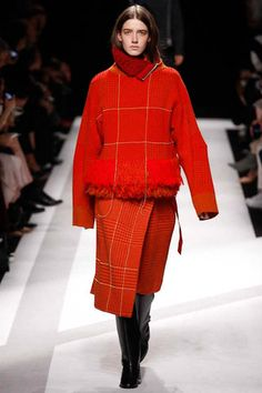 Sacai Fall 2014 Ready-to-Wear Collection Slideshow on Style.com