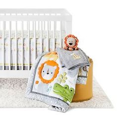 Circo™ 4pc Crib Bedding Set - Snooz 'n Safari