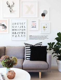 My home via OHM (Larnie Nicolson for Homestyle)