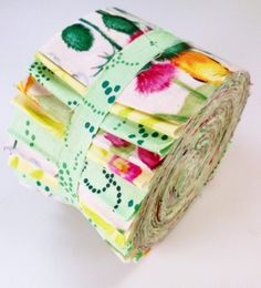 Fabric quilting jelly roll