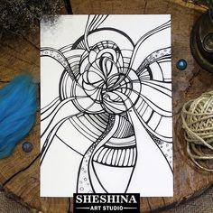 "Шешина Екатерина  Арт графика ""Абстракция""  День 28 . #myartnovember #day28 #Шешина_Екатерина  #артграфика #графика #zenart #zengraphic  #zendoodle #doodle #zentangle #абстракция  #арт #sheshina_ekaterina #lineart #art #inkart  #abstractart #blackwork #zendrawing #sketch  #abstract #draw #artwork #pen #ink  #drawing #instaart"