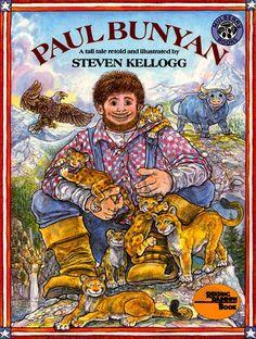 Paul Bunyan - Steven Kellogg - Have it - thrift store find - paperback