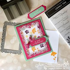 i♥Cards2 Little Flowers, My Flower, Smile Because, My Stamp, Stampin Up Cards, Your Cards, I Card, Card Stock, Challenges