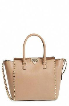 Valentino  Rockstud  Double Handle Leather Tote available at  Nordstrom   Designerhandbags  Valentino · Handbag ... fbd25a437cc5b
