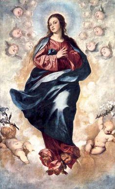 Alonso Cano - Immaculate Conception - WGA03995 - Arte mariano - Wikipedia, la enciclopedia libre
