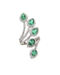 Diamond Ring by Daniella Kronfle Jewelry
