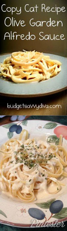 Olive Garden Pasta Alfredo