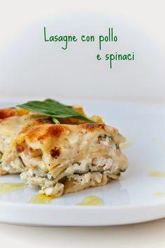 Cucinare con amore: Sýrové lasagne s kuřecím masem