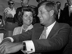 JFK & sister, Pat